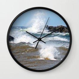 Surf's Spray Wall Clock