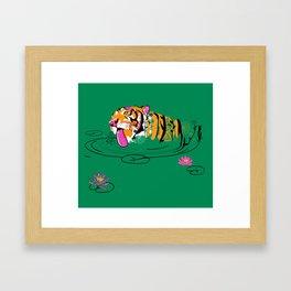 Tigar Lily Framed Art Print