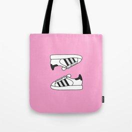 Pink Stars Tote Bag