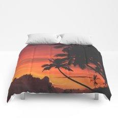 Palm Tree Majesty Comforters