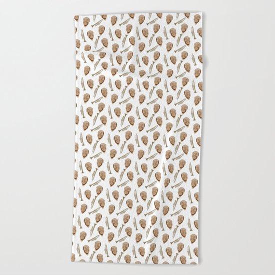 Wonderful Louis Beach Towel
