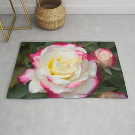 Multi Colored Rose Rug