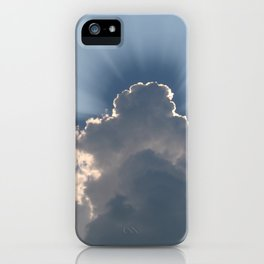 Silver Lining Sky iPhone Case