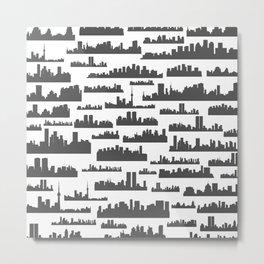 Landscape a background Metal Print