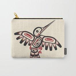 Salish Coast Humming Bird Carry-All Pouch