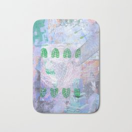 S++ Angel rice up and down Bath Mat