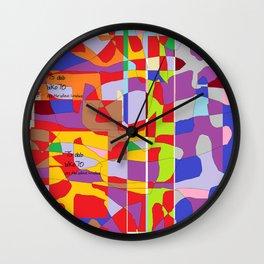 Breaking Space Into 2018 (biko70 #75dab) Wall Clock