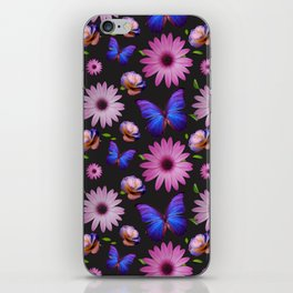 Spring invading the house with flowers iPhone Skin