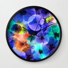 Petalos III Wall Clock