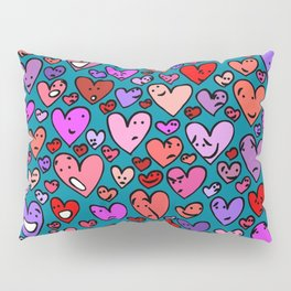 #MindfulHearts #faces Pillow Sham