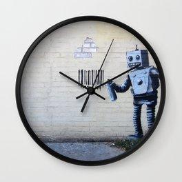 Banksy, Robot Wall Clock