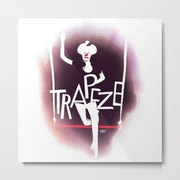 Circus - Trapeze Metal Print