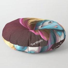 Smurffete Floor Pillow