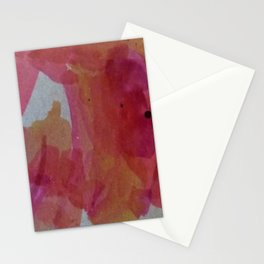 Abstract Sunset Colors Stationery Cards