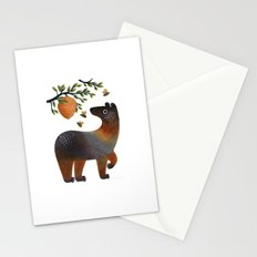 Bear With Bee Stationery Cards