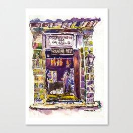 20140408 The Papier Tole Shop 1668 Canvas Print