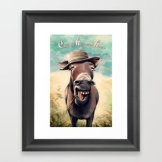 Just Chill Out Framed Art Print