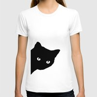 meow T-shirts featuring Meow by Sherry Yuan