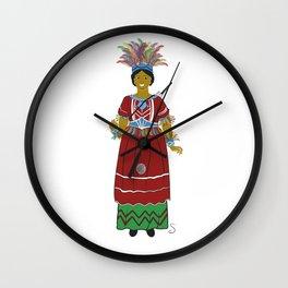 La Geganta India de Reus Wall Clock
