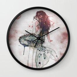 Mermaid II Wall Clock