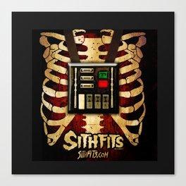 Sithits - More Machine Than Man Canvas Print