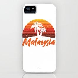 Malaysia Asia iPhone Case