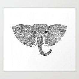 Eleprint Art Print