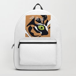 The Eye of the Ta Gueule Backpack
