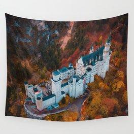 Neuschwanstein Castle in Schwangau, Germany Wall Tapestry