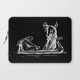 Norse Myth Frigg and Odin Sailing In Fensalir Laptop Sleeve