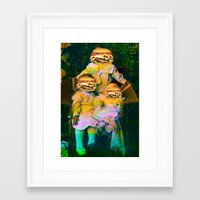mac Framed Art Prints featuring Mac Attack by Tyler Spangler