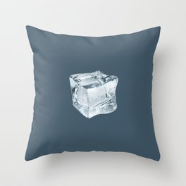 Stay Cool - dark Throw Pillow