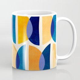 Night And Day Abstract / Geometric Pattern Coffee Mug