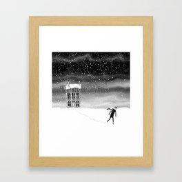 Inside the Snow Globe  Framed Art Print