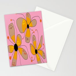 FLOWERY ISADORA  / ORIGINAL DANISH DESIGN bykazandholly Stationery Cards