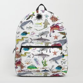 Under the Sea Alphabet Backpack