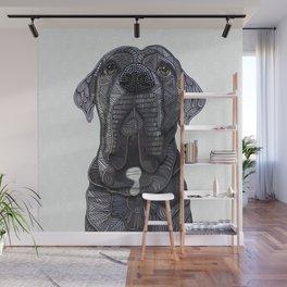 Chief the Mastiff Wall Mural
