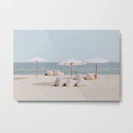 summer beach ii Metal Print