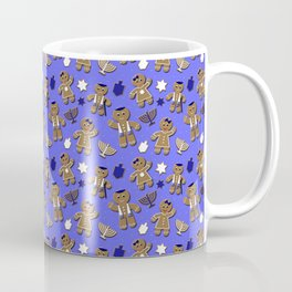 Hanukkah Gingerbread Coffee Mug