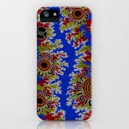 Authentic Aboriginal Art - Waterholes Corela iPhone Case