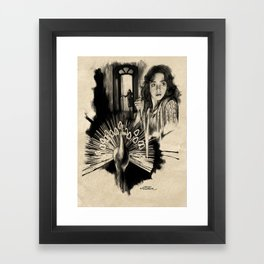 Homage to Suspiria Framed Art Print