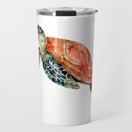 Sea Turtle, turtle art, turtle design Travel Mug