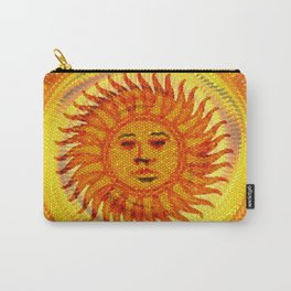 Bright Smiling Sun Carry-All Pouch