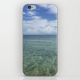 Blue Beach Vieques iPhone Skin