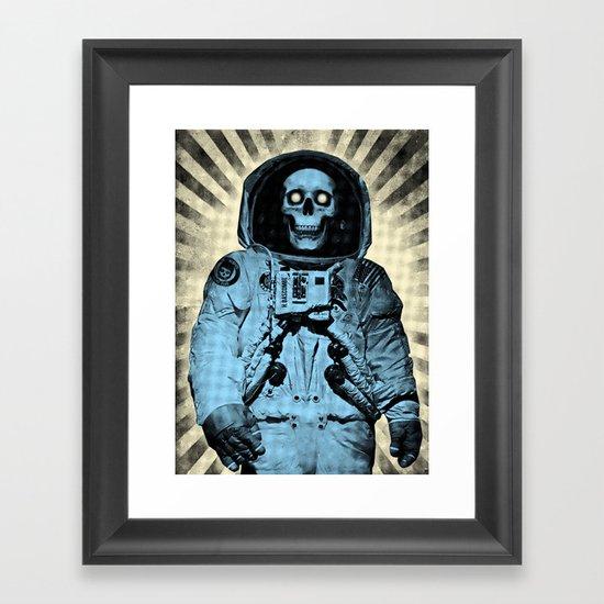 Punk Space Kook Framed Art Print