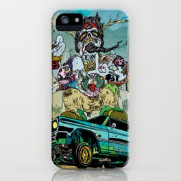 B-Side Low Ride iPhone Case