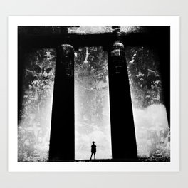 In the Shadow of Giants Art Print