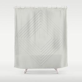 Celeste Diamonds Shower Curtain