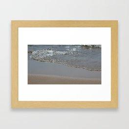Pristine Sands Framed Art Print