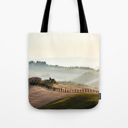 avenue of cypresses Tote Bag
